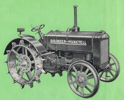 Bolinder-Munktell BM 2 b&w