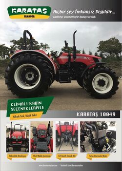 Karatas 10049 MFWD brochure (red) - 2018