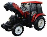 Land Track YTO-5504 MFWD-2010