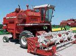 White 8600 combine 2