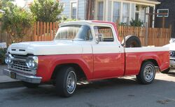 1960 Ford F-100 Debadged