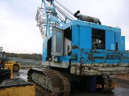 A 1980s Smith Of Rodley Crawlercrane Diesel in Germany
