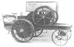 Abenaque 1908 15HP single-cylinder gasoline tractor