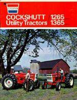 Cockshutt 1365 MFWD ad