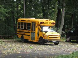 Divine Peace Lutheran School bus