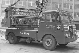 A 1961 REDLER MK1 Diesel Mobilecrane on Seddon cranecarrier