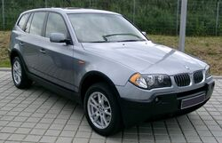 BMW X3 front 20080524