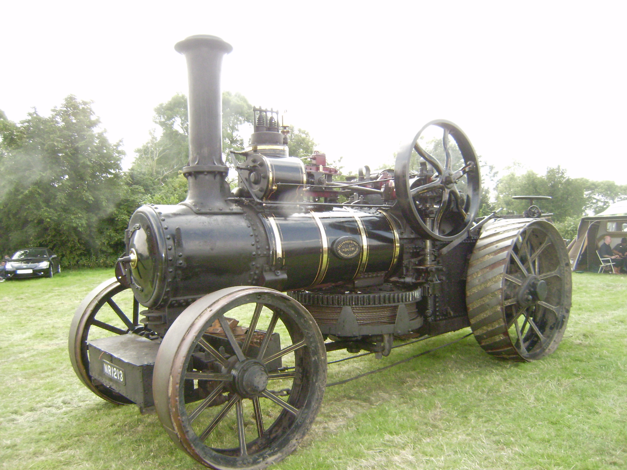 Traction Engine Tractor Construction Plant Wiki Fandom Powered Steam Car Diagram By Wikia