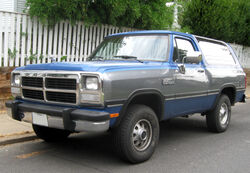 Dodge Ramcharger -- 07-20-2009