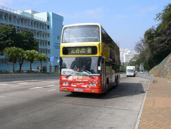 Duplex Metsec bodywork route 8
