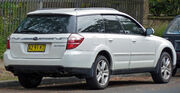 2007-2009 Subaru Outback Premium Pack station wagon 05