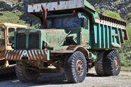 Aveling Barford dump truck