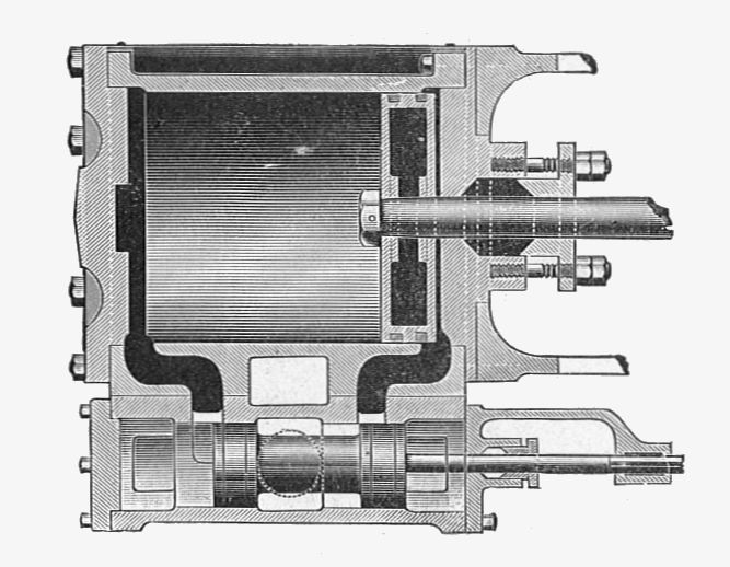 Piston Valve  Steam Engine