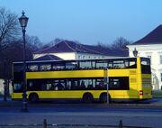 Doppeldeckerbus dreiachsig BVG