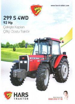 Hars 299 S MFWD (MF) brochure - 2014