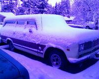 Travelall snowed