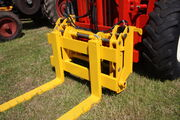 Manitou forklift quick hitch sideshift fork carriage - IMG 0095