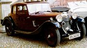 Riley Lincock Fixedhead Coupe 1934