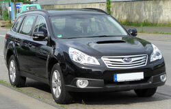 Subaru Outback IV 2.0D AWD Active front 20100613