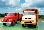 1960s EBRO B35 and B35C trucks