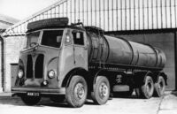 A 1950s GUY Invincible Tanker Lorry