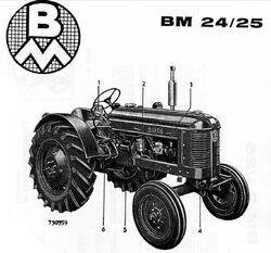 Bolinder-Munktell BM-24 b&w