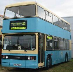 Nu Venture fiesta blue Maidstone Centenary bus