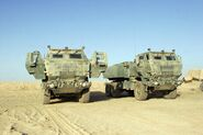 Two HIMARS of the USMC