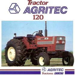 Agritec 120 brochure (Fiat)