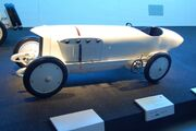 Blitzen Benz racing car