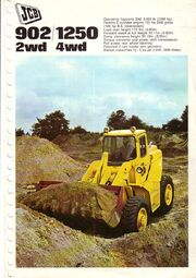 JCB 902 Brochure