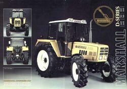 Marshall D844 MFWD brochure