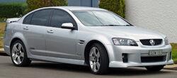 2009-2010 Holden VE Commodore SS V sedan 01