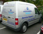 Alexander Dennis support van