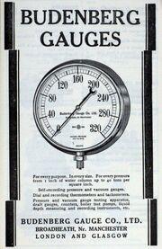 Budenberg gauge add - graces guide -Im1936