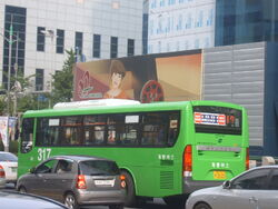 Daejeon bus 317