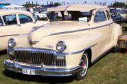 De Soto De Luxe Coupe 5W 1948