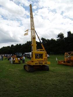 Hymac 480 crane