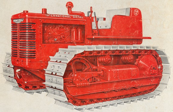 International T-9 and TD-9 series | Tractor & Construction