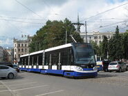 Škoda 15T v Rize