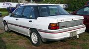 1991 Ford Laser (KF) GL Livewire sedan 01
