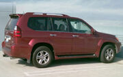 2008 Lexus GX 470 Salsa Red Pearl