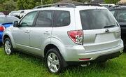 2010 Subaru Forester (MY10) XS wagon 01