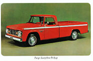 Fargo Sweptline pickup ad - 1967