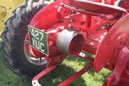 Farmall A - reg no. 427 XUC belt pully - IMG 0109