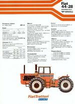 Fiat 44-28 4WD brochure