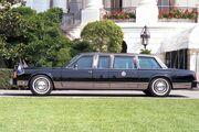 George H. W. Bush presidential limousine 1989
