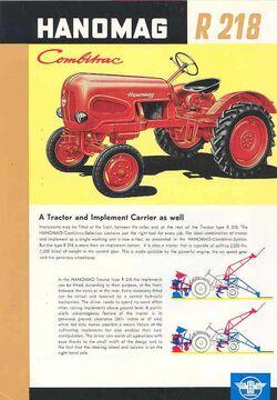 Hanomag R 218 ad - 1959