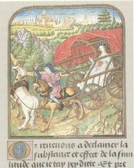 Kobelwagen, Jean Le Tavernier, nach 1455