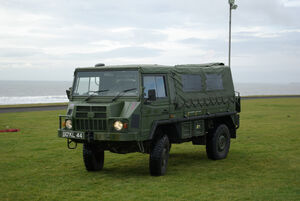 Pinzgauer High Mobility All-Terrain Vehicle by Nick